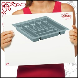 Wkład na sztućce do szuflady 40cm COMFORT głębokość 490