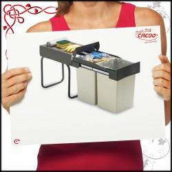 Segregator na odpady LINEA 227 do szafki 30cm