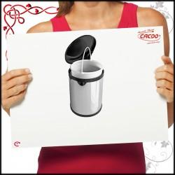 Segregator na odpady LINEA 270 do szafki 40cm - inox