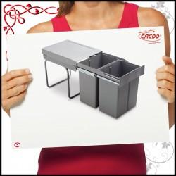 Segregator na odpady LINEA 290 do szafki 40cm