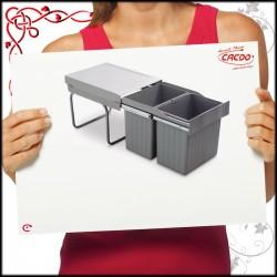 Segregator na odpady LINEA 291 do szafki 40cm