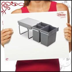 Segregator na odpady LINEA 292 do szafki 40cm
