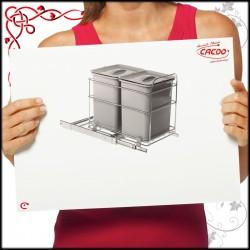 Segregator na odpady VIB-CAR do szafki 40cm