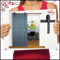 System LOFT drzwi przesuwnych BARNIO 80kg z miękkim domykiem
