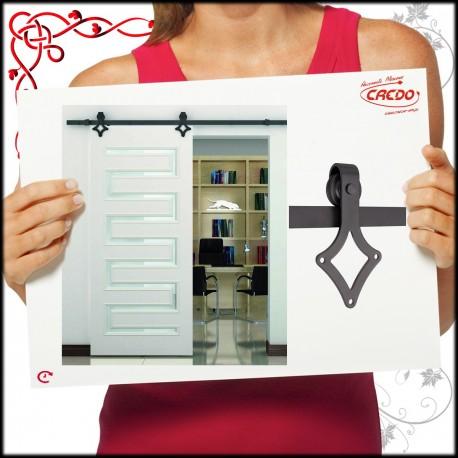 System LOFT drzwi przesuwnych BARNIO SQUARE 80kg z miękkim domykiem